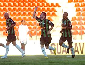 Thiago Silvy, do América-MG. (Foto: Rodrigo Fuscaldi / Globoesporte.com)
