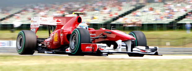 Alonso Kubica treino F1 GP da Hungria