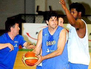 Basquete - Guilherme Giovannoni treino