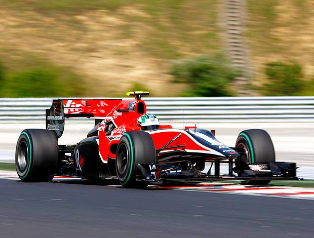 Lucas di Grassi GP Hungria