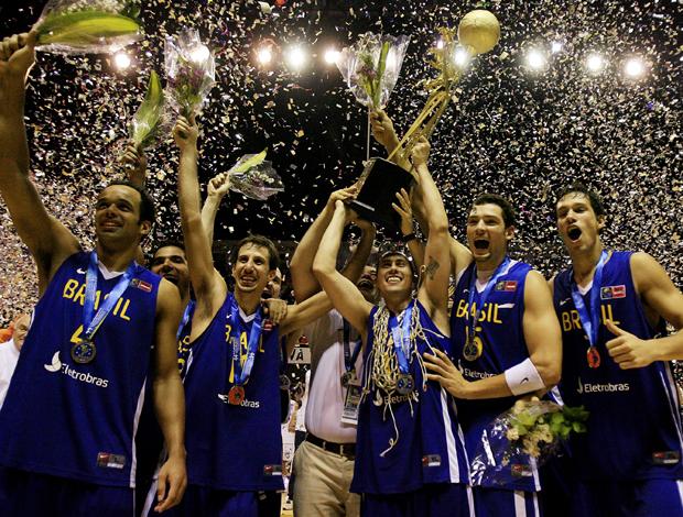 Brasil campeão basquete