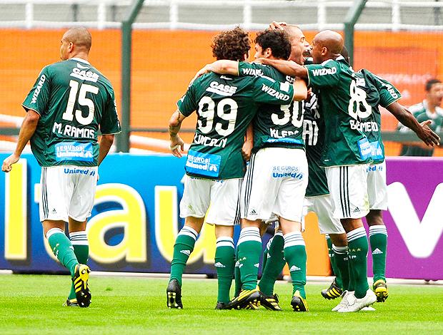 Kleber gol Palmeiras