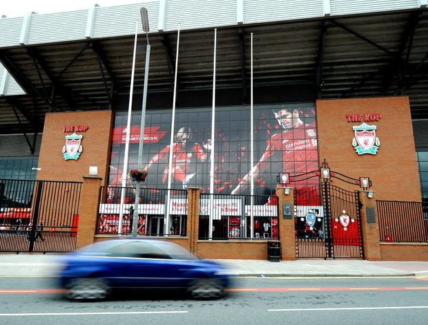 Entrada estádio Anfield Liverpool
