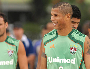 André Luis treino Fluminense