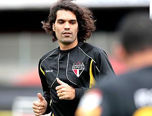 Fernandão, treino São Paulo