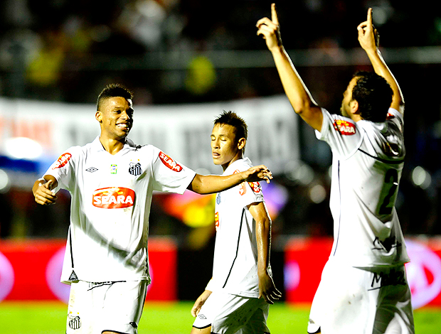 edu dracena santos gol copa do brasil
