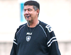 Joel Santana, treino Botafogo