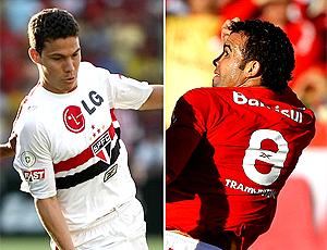Montagem: Hernanes São Paulo e Sandro Internacional