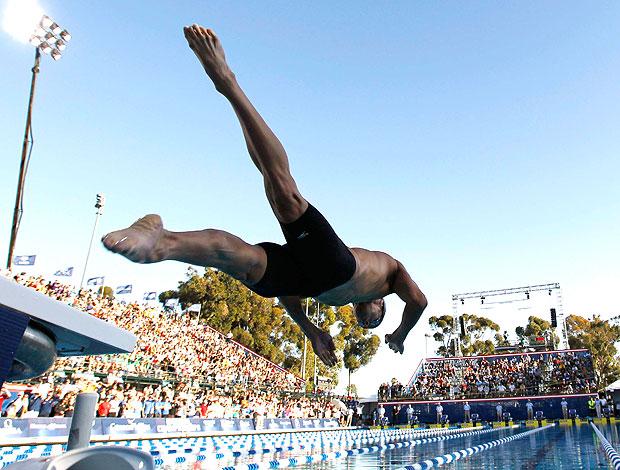Phelps prova 200m Estados Unidos