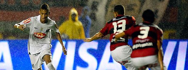 Neymar na final da Copa do Brasil entre Vitória e Santos