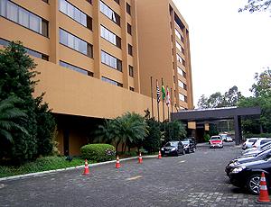 Hotel hospedado (concentração) pelo Internacional em São Paulo