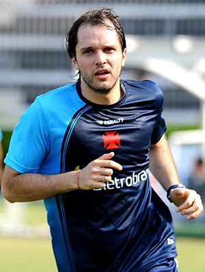 Jadson Viera no treino do Vasco