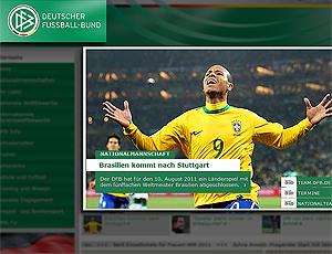 Site federação Alemã anuncia amistoso contra Brasil