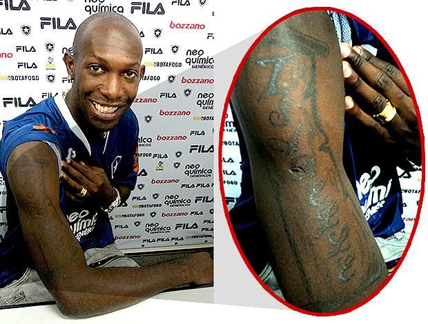 somália botafogo tatuagem