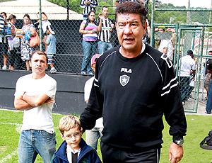 Joel, treino Botafogo