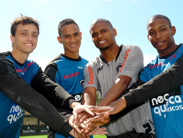 Raphael, Renan, Jefferson, Luis Guilherme Botafogo