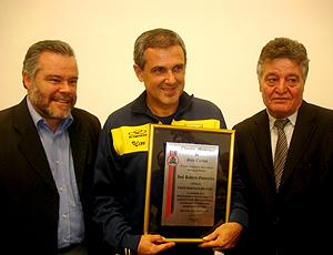 Zé Roberto, seleção de Vôlei. Brasil (Foto: João Gabriel Rodrigues / Globoesporte.com)