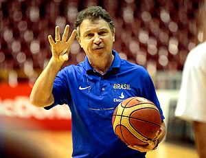 basquete Ruben Magnano brasil treino