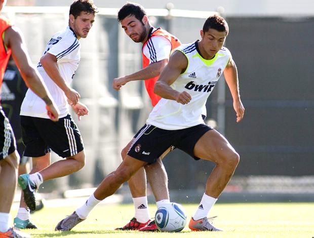 Cristiano Ronaldo, treino Real Madrid em Los Angeles