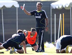Mourinho, técnico Real Madrid, treino Los Angeles