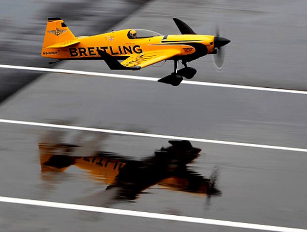 Nigel Lamb Air Race Alemanha chuva