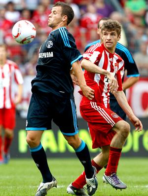 Thomas Müller Bayern Munich x Schalke 04 Supercopa da Alemanha