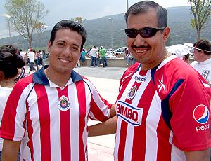 Torcedores do Chivas. Libertadores