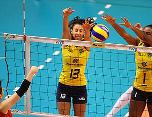Sheila Brasil x Japão - Grand Prix vôlei
