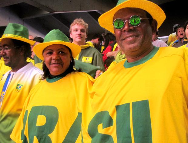 Vôlei  Brasil Grand Prix Sônia e Carlos pais de Sassá