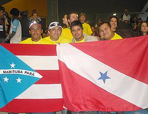 Torcedores do Pará no jogo Brasil x Japão - Grand Prix