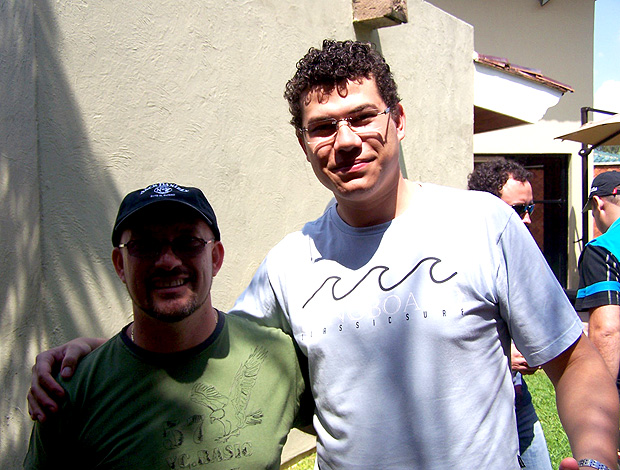 São-paulinos Anderson Silva e Ulisses Pereira, em Guadalajara