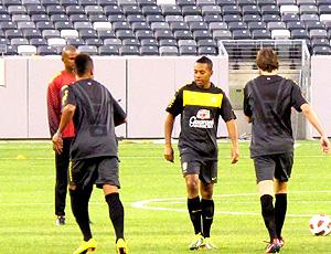 robinho  brasil treino EUA