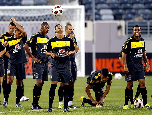 Treino Brasil Seleção EUA