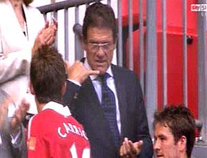 FRAME Fabio Capello e Carrick