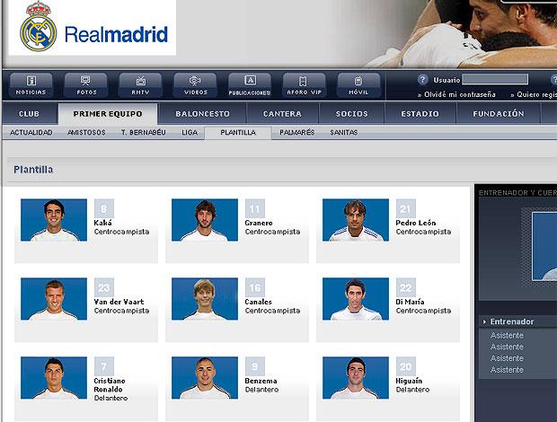 montagem numeração Real Madrid Cristiano Ronaldo