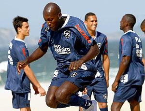 Somália no treino do Botafogo