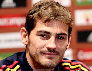 Casillas, Espanha coletiva jogo amistoso México