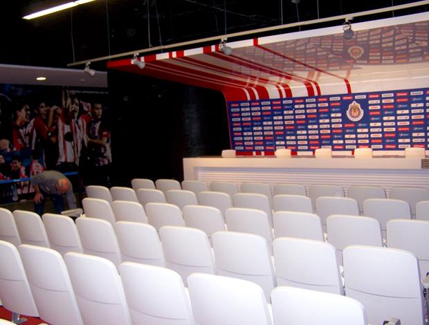 Instalações sala imprensa Chivas México
