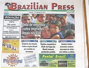 Jornal brasileiro em Newark, EUA