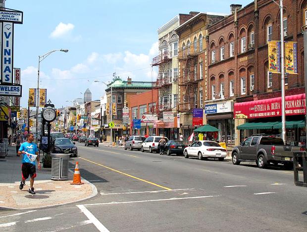 Ruas de Newark, EUA