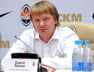 Sergiy Palkin dirigente do Shakhtar Donetsk