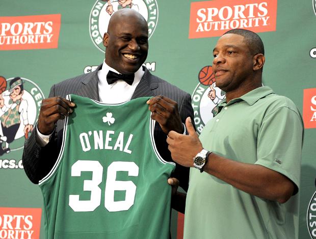 Apresentação ShaquilleO'Neal, Boston Celtics