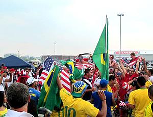 torcidas amistoso brasil e eua