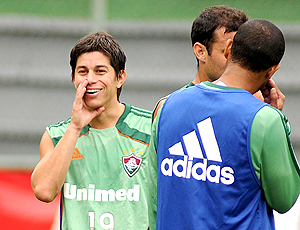 Conca, treino Fluminense