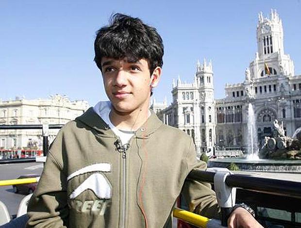 Alípio, jogador Real Madrid, base