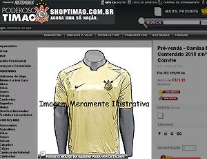 Camisa Corinthians, Centenário