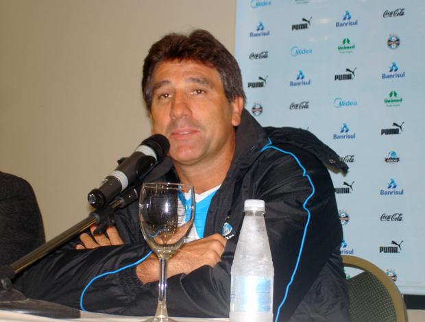 Renato Gaúcho, apresentação Grêmio coletiva