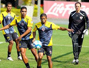 Júnior César, treino São Paulo