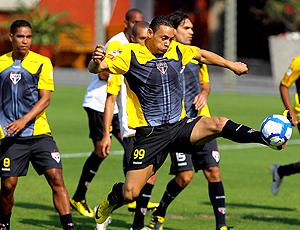 Ricardo Oliveira, treino São Paulo