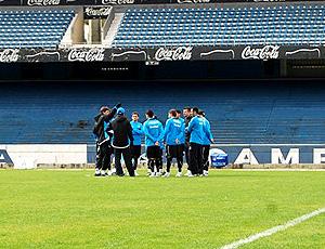 Renato Gaúcho comanda o treino do Grêmio